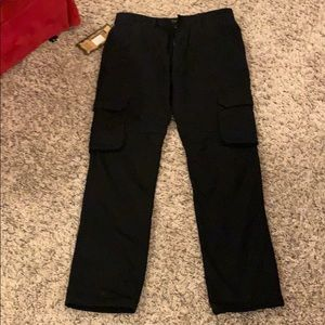 Other - Fleece cargo pants